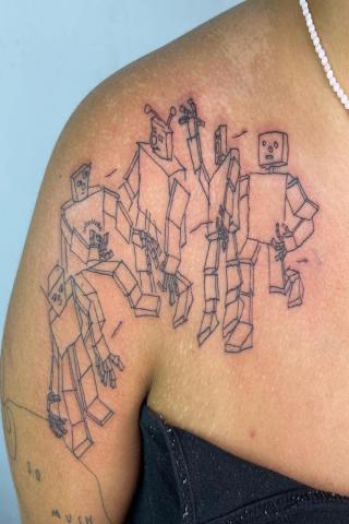 Tatuaż roboty