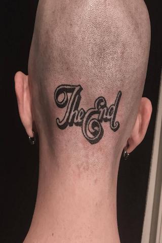 Tatuaż The End