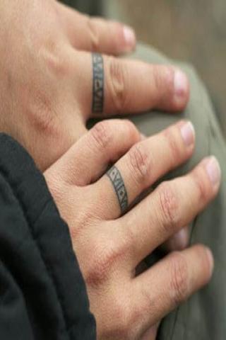 Tatuaże obrączki