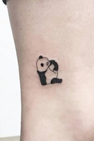 tatuaże panda
