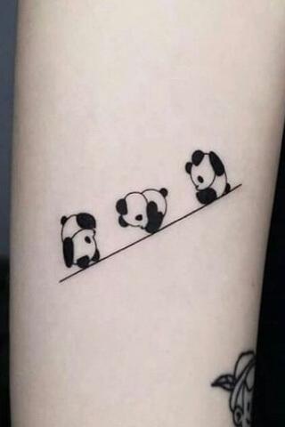 Tatuaże pandy