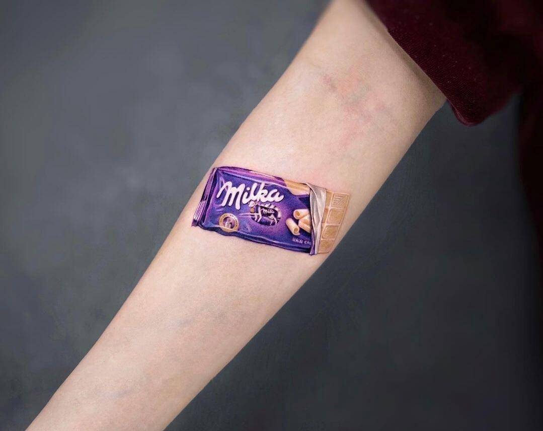 Tatuaż fan Milki