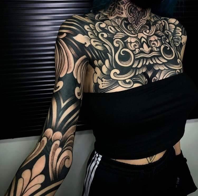 Tatuaże damskie wzory